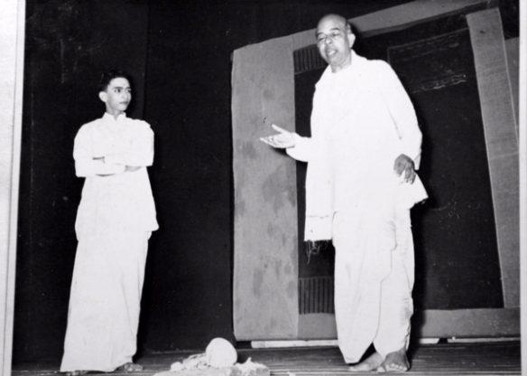 Dr. Raghavan's contribuion to Drama